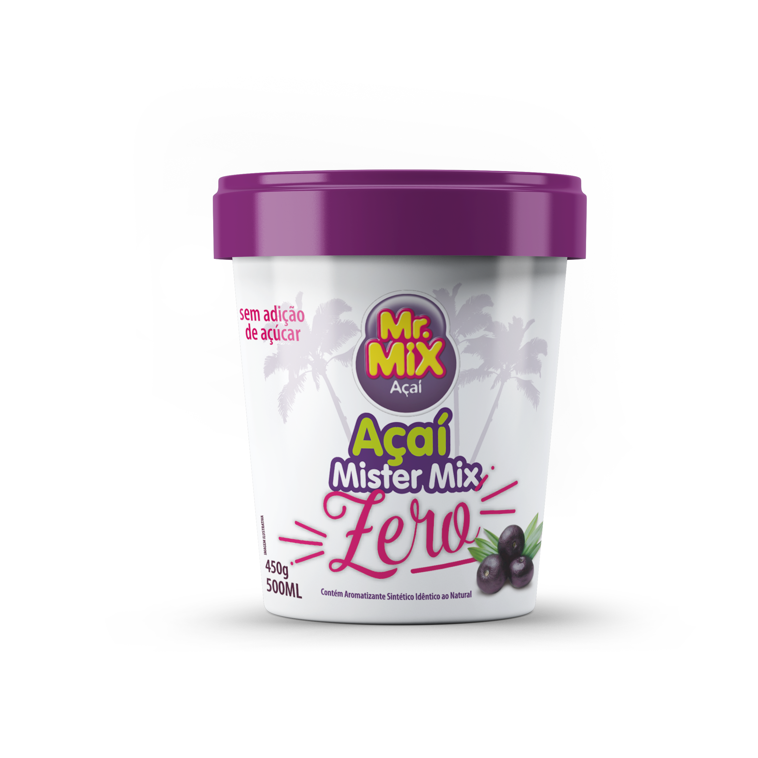 Açaí de Açaí Zero - Mr Mix