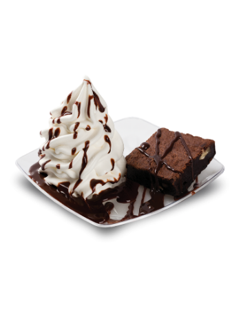 Sorvete Expresso de Brownie com Sorvete - Mr Mix