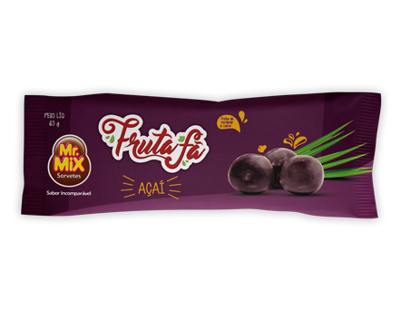 Paleta Açaí - Mr Mix