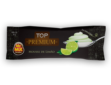 Paleta Mousse de Limão - Mr Mix