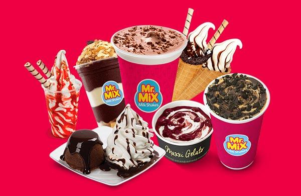 franquias mr mix milkshakes